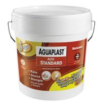 Stucco in pasta Aguaplast Alto Standard liscio bianco 25 kg