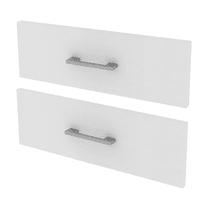Set 2 cassetti Spaceo bianco L 45 x P 45 x H 32 cm