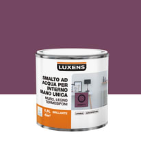 Smalto manounica Luxens all'acqua Rosa Candy 2 brillante 0.5 L
