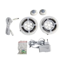Kit striscia LED non estensibile luce calda m1,2