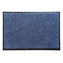 Zerbino Wash&clean grigio scuro 60 x 90 cm