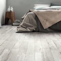 Piastrella Wordwood 10 x 60 cm bianco