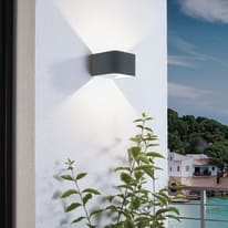 Applique led integrato Doninni nero