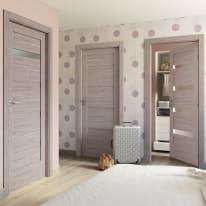 Porta da interno battente Capena 1 sabbia 80 x H 210 cm dx