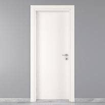 Porta da interno battente Moma bianco 80 x H 210 cm sx