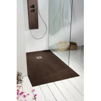 Piatto doccia resina Forest 170 x 80 cm noce