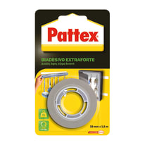 Nastro biadesivo Extraforte Pattex bianco 1,5 m x 19 mm