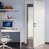 Porta da interno battente Keyboard white bianco 80 x H 210 cm dx