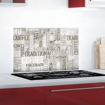 Sticker Kitchen Pannel Coffee