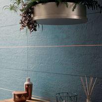 Piastrella Shabby 30 x 120 cm blu