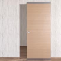 Porta da interno scorrevole Sheraton Easy binario nascosto rovere 91 x H 221 cm reversibile