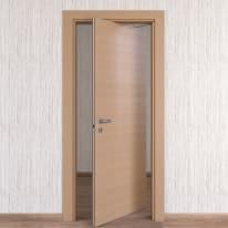 Porta da interno rototraslante Sheraton rovere naturale 70 x H 210 cm dx