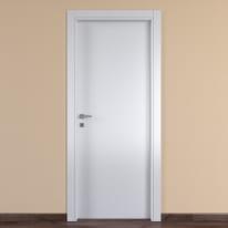 Porta da interno battente One white bianco 60 x H 210 cm reversibile