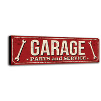 quadro su tela Garage 60x20