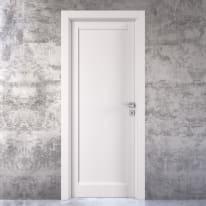 Porta da interno battente Aludra bianco 70 x H 210 cm sx