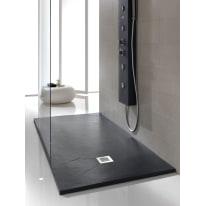 Piatto doccia poliuretano Soft 150 x 90 cm antracite