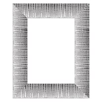 Cornice Soho argento 10 x 15 cm
