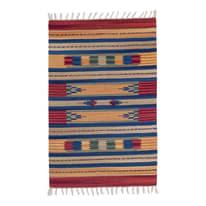 Tappeto Larya jahnu colori assortiti 60 x 90 cm