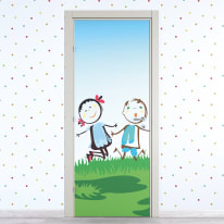 Porta da interno battente Junior 70 x H 210 cm dx