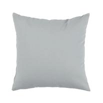 Fodera per cuscino grigio 40 x 40 cm