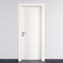 Porta da interno battente Rail bianco 90 x H 210 cm dx