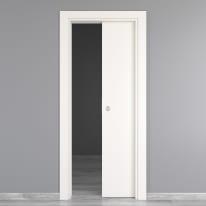Porta da interno scorrevole Moma bianco 70 x H 210 cm reversibile