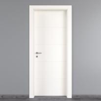 Porta da interno battente Prado Bianco 90 x H 210 cm dx