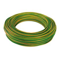 Cavo CPR unipolare FS17 450/750V Baldassari Cavi 4 mm giallo/verde, matassa 100 m