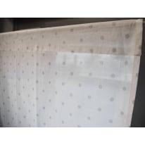 Coppia tendine a vetro per finestra Pilma grigio 60 x 160 cm