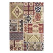 Tappeto Modern kilim multicolore 133 x 190 cm