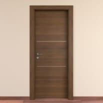 Porta da interno battente Tussauds cacao 90 x H 210 cm dx