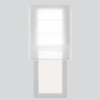 Tenda a pacchetto bianco 80 x 250 cm