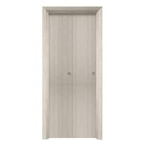 Porta da interno pieghevole Saints frassino 70 x H 210 cm reversibile