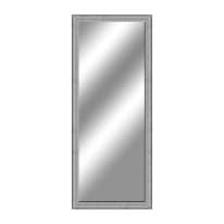 specchio da parete rettangolare Sibilla argento 50 x 135 cm