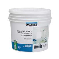 Idropittura antimuffa bianca Luxens 4 L