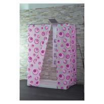Tenda doccia Magenta rosa L 240 x H 200 cm