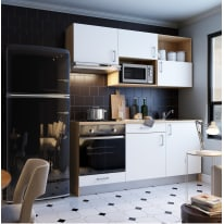 Cucina One bianco L 180 cm