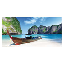 quadro su tela Paradise beach 70x140