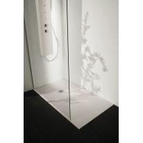 Piatto doccia resina Liso 170 x 90 cm ecrù