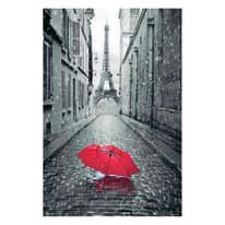 Poster Paris ombrello red 61 x 91,5 cm