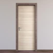 Porta da interno battente Mixage brown grano 90 x H 210 cm reversibile