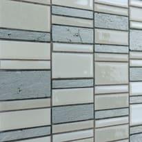 Mosaico Summer 30 x 30 cm bianco, grigio
