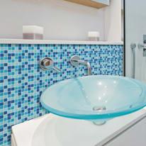 Mosaic Tile Light Blue