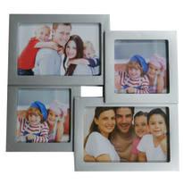 Portafoto multiplo Easy4 argento 4 foto