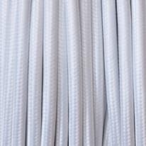 Cavo tessile bianco