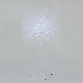 Albero natalizio luminoso 200 Led bianca fredda H 150 cm