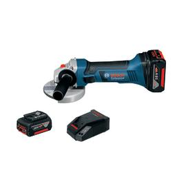 Smerigliatrice angolare a batteria Bosch GWS18-125V-LI 18 V