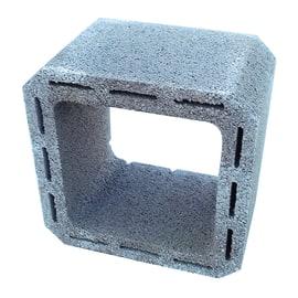 Canna fumaria in cemento 20 x 20 x 25 cm
