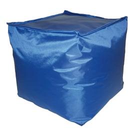 Cuscino pouf Idrorepellente blu 45 x 45 cm