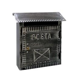Cassetta postale singola Rustica, formato lettera, L 26 x H 26,5 x P  10 cm